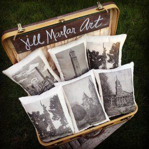 Jill Marlar pillows